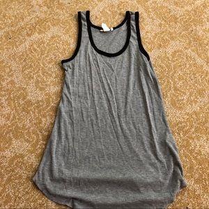 NWOT H&M basic grey tank top